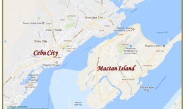 Cebu-Mactan Map